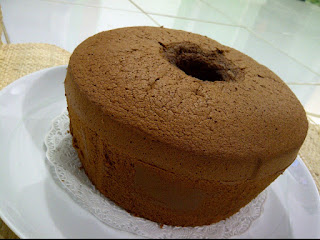 Kue Choco Chiffon Cake