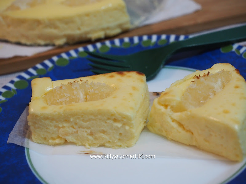 Cheesecake with pineapple recipe 芝士菠蘿蛋糕自家食譜