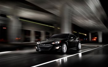 Wallpaper: Hyundai Genesis Coupe 2015