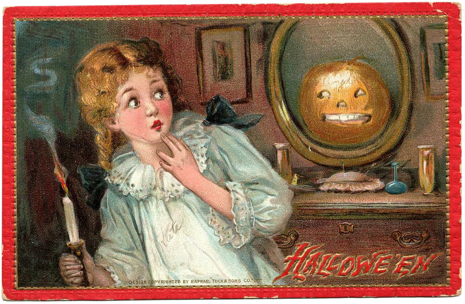 Papergreat Spooky Tuck Sons Hallowe En Postcard Mailed In 1910
