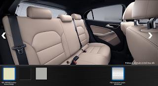 Nội thất Mercedes GLA 200 2019 màu Vàng Sahara 105