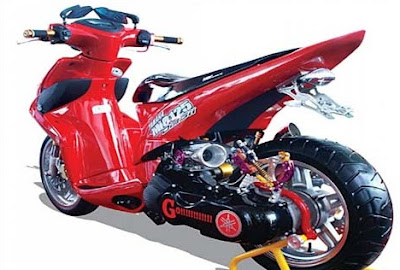 ide modifikasi mio m3 125cc