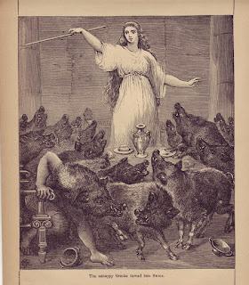 Resultado de imagen de circe y los cerdos