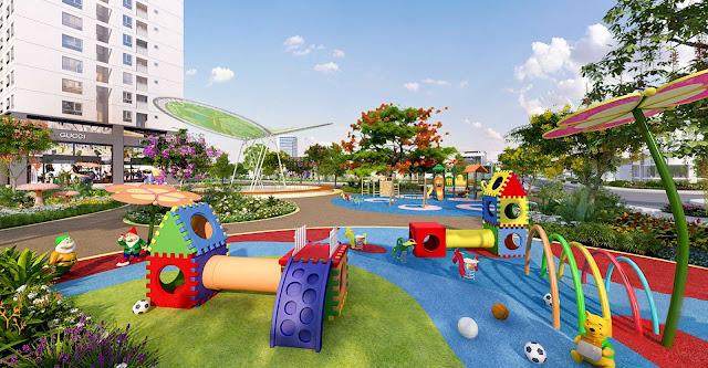 Khu vui chơi phát triển dành cho trẻ em tại Thek Park