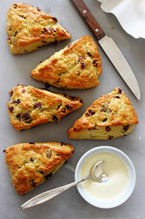 Cranberry-sinaasappel scones