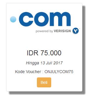 Promo Domain .Com Cuma 75 Ribu di Qwords