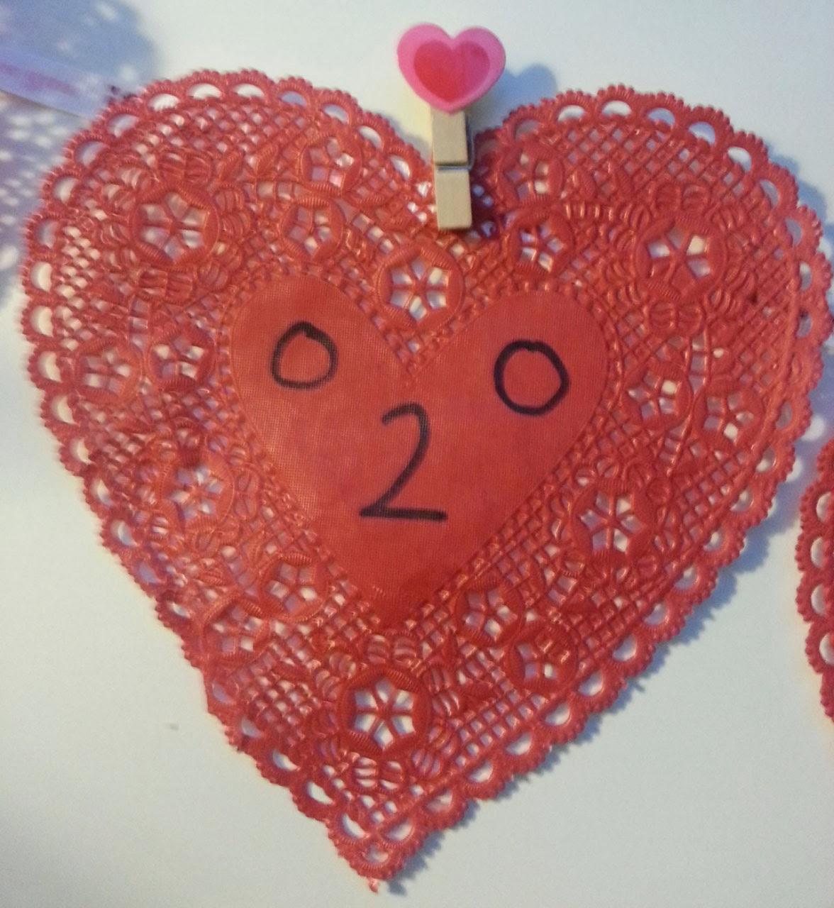 Counting On Hearts Valentine Counting Activity