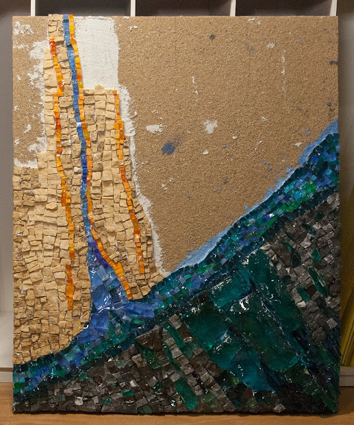 Swimming Upstream Day 5 Chicago Mosaic School With Verdiano Marzi - Contemporary