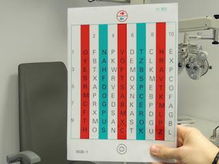 tabla de color efecto anaglifo