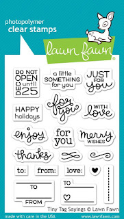 Lawn Fawn Tiny Tag Sayings