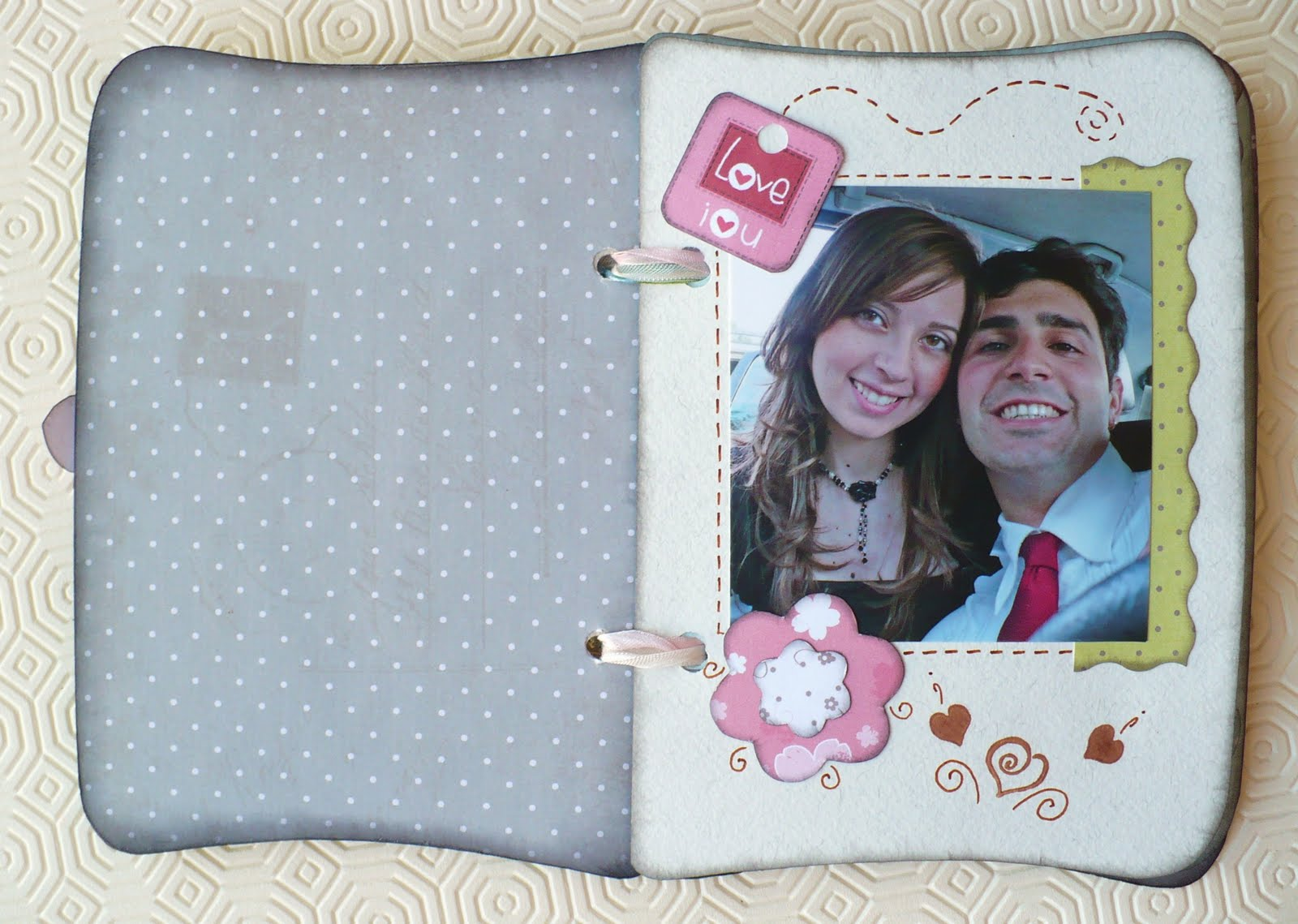 Extrêmement Sweet Bio design: Scrapbooking: Album ricordi - Best memories album BK05