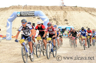 Campeonato de Mountain Bike en Puerto Madryn