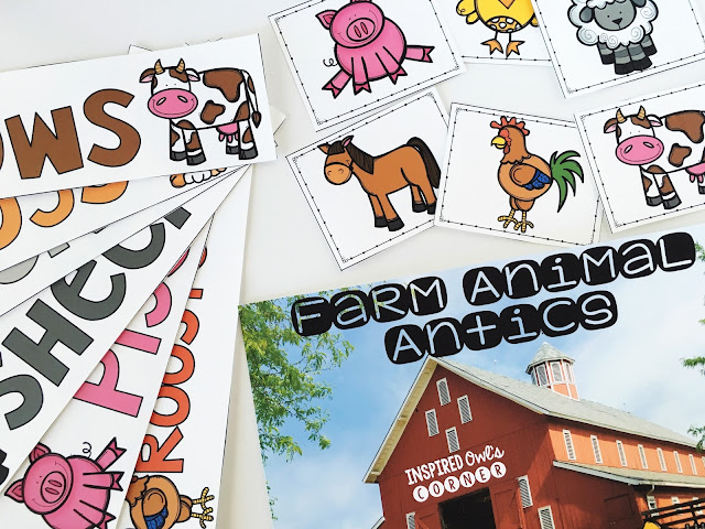 Farm Animal Antics Freebie