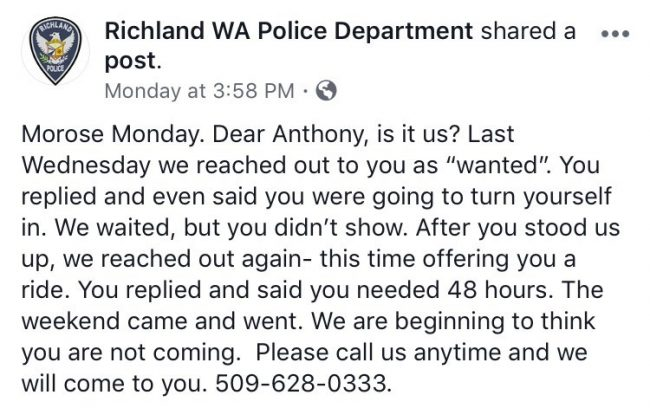 A Guy Responded To His Own 'Wanted' Post On Facebook. What Happened Next Was Hilarious!