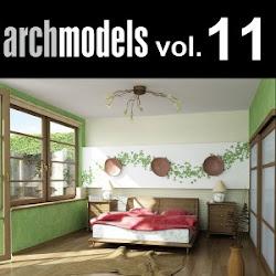 Download 3d model: Archmodels vol 1-10 (free)