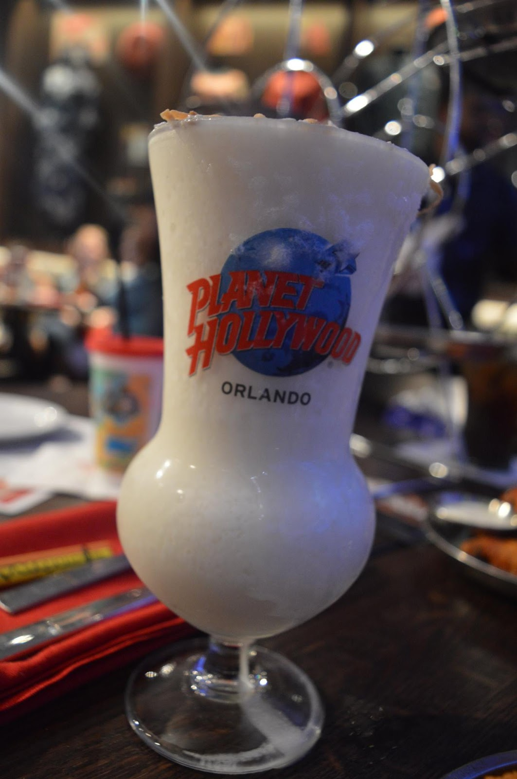 11 Things to do with Kids at Disney Springs Orlando, Florida  - planet hollywood cocktail