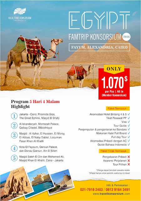 Ikuti Famtrip Tour Egypt