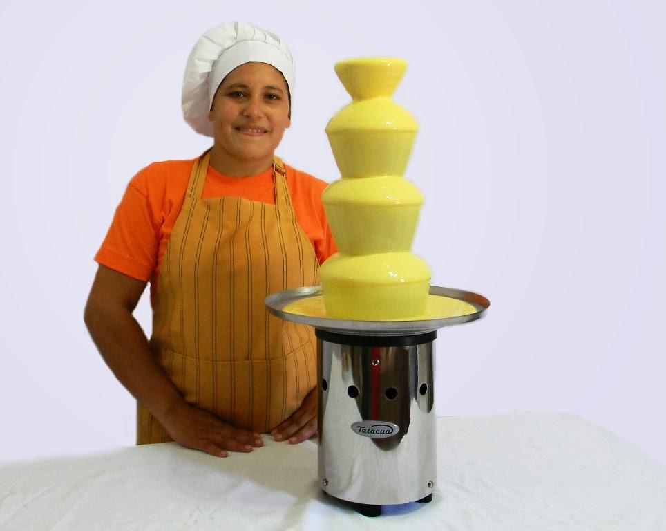 cascada de chocolate funcionamiento prolongado