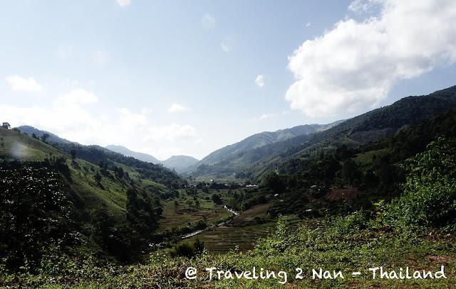 Motorbike riding in North Thailand