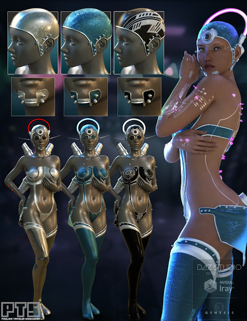 Integrated Circuit Outfit for Genesis 3 Female