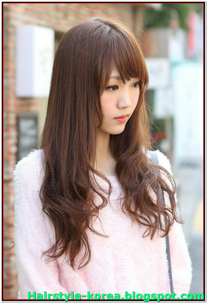 25 best korean hairstyle for women long hair 2017