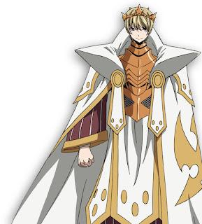 Makoto Furukawa como el Rey Animus, rey del reino de Stella