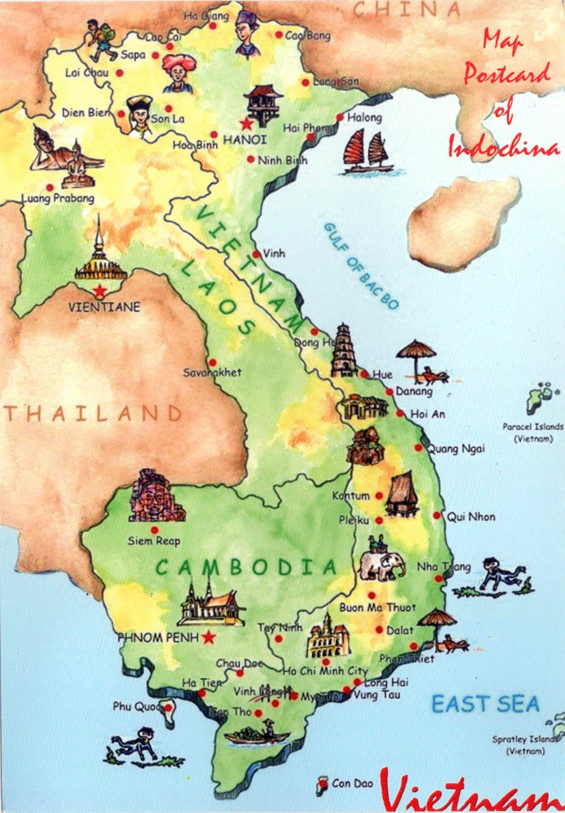 World Come To My Home 3194 Vietnam The Map Of The Country
