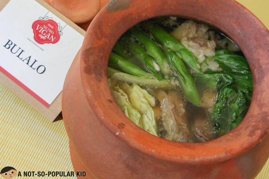 Bulalo - a favorite Filipino dish served here in Metro Vigan Cafe