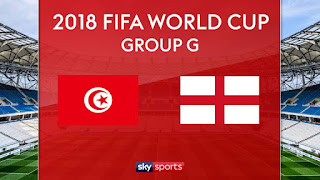 Tunisia vs England Live Streaming online Today 18.06.2018 World Cup 2018