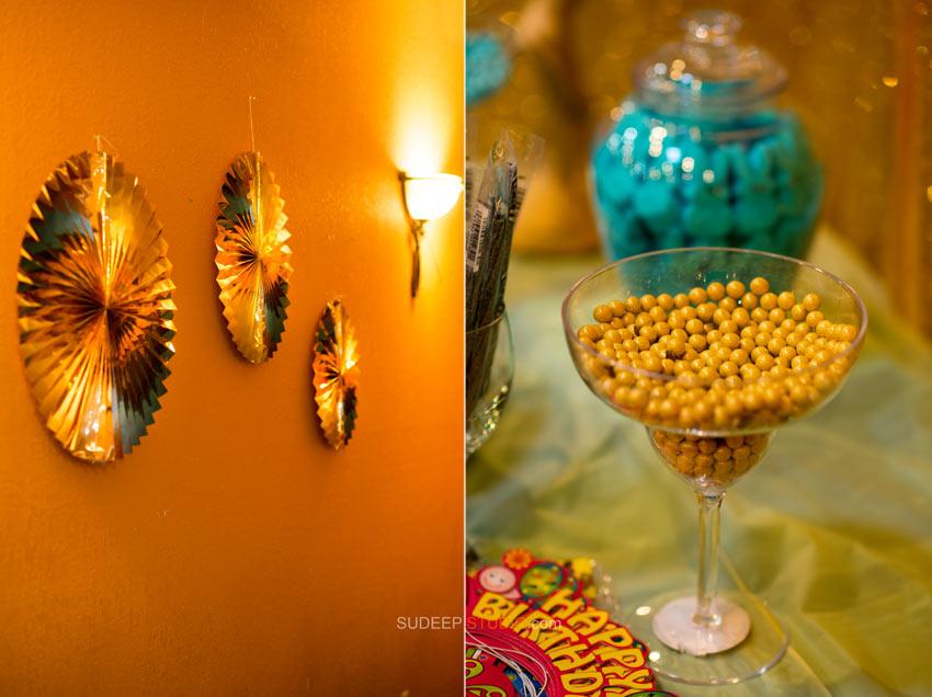 1st (first) Birthday Party Photography Indian Decoration Ideas - Sudeep Studio Ann Arbor Photographer