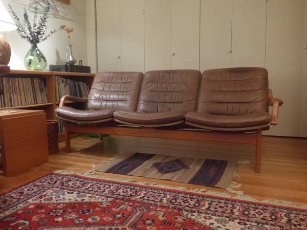 Mid Century Berg Furniture Danish Sofa