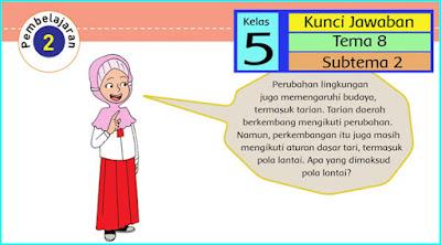 K13 revisi:  Kunci Jawaban Buku Siswa Tema 8 Kelas 5 Halaman 60, 63, 64 65, 66