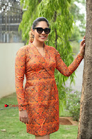 Actress Mumtaz Sorcar Stills in Short Dress at Guru Movie Success meet  0242.JPG