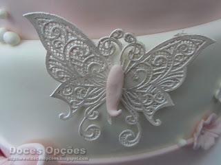 borboletas pasta açucar bolo decorados bragança