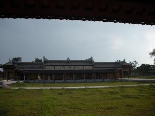 Hung Mieu entrada do templo. Hue Citadel