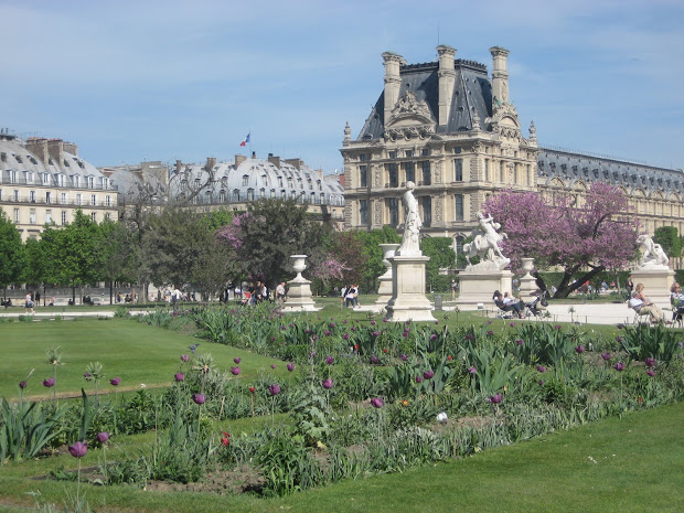 Afternoon In Tuileries Garden - French Culture
