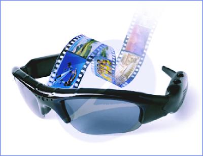 Produk Kacamata Kamera untuk Photo, Video dan Suara (Audio)