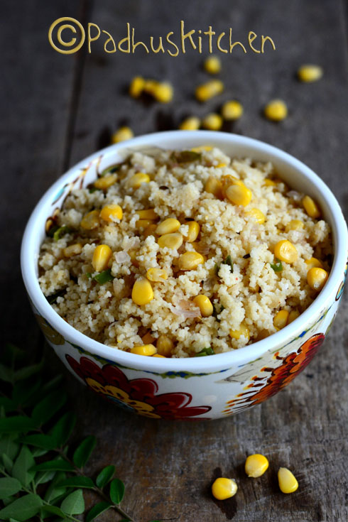 Couscous with Sweet Corn