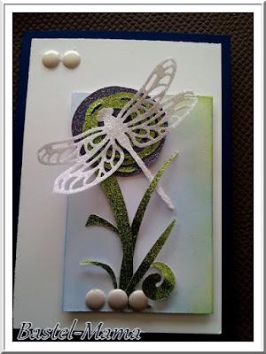 Karte, Libelle, SU Produktpaket Liebelleien