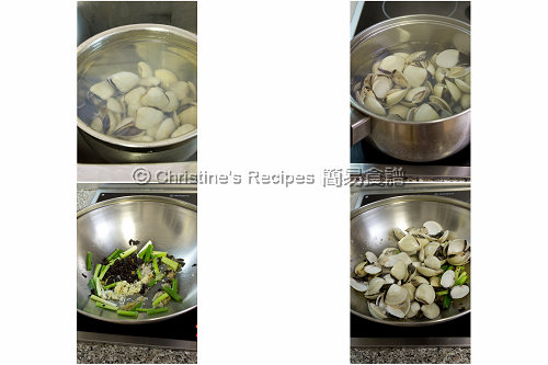 How To Stir Fry Clams