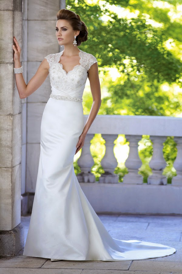 Llamativos vestidos de novia | Colección David Tutera for Mon Cheri ...