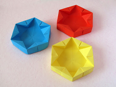 foto 5 Origami Hexagonal Box by Francesco Guarnieri