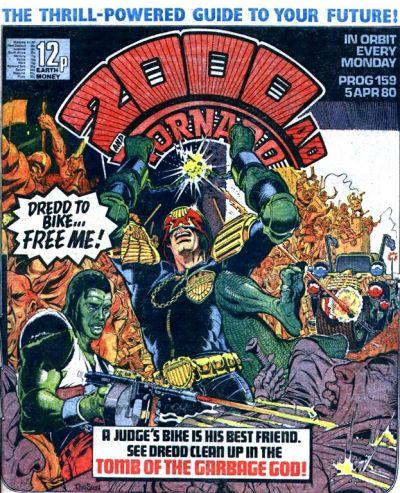 2000 AD Prog 159, Judge Dredd