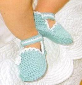 Sapatinho de Crochê Para Bebê - confeccionado por Pecunia MillioM