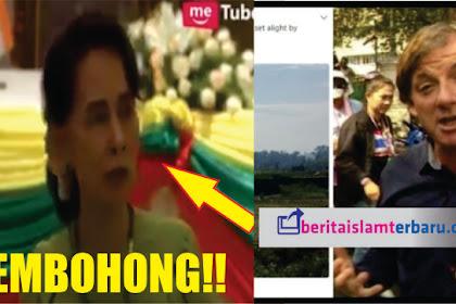 "Aung San Suu Kyi PEMBOHONG! Wartawan Inggris Sebut ""Saya melihat desa Muslim sengaja dibakar"""