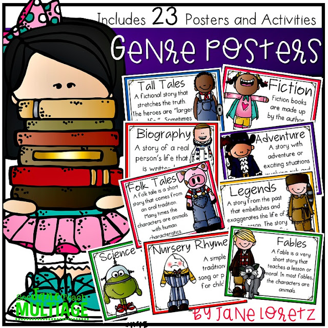 Genre: See Jane Teach Multiage: Genre Posters