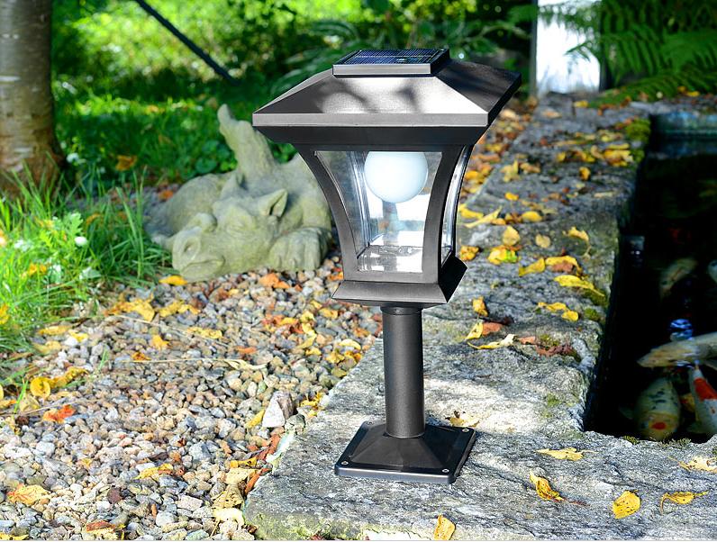 Iluminacion Solar De Jardin Of Jard N Solar Farolas Solares Estilo Cl Sico Para Nuestro