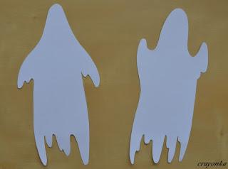 szablony duchów