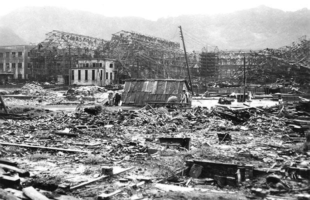 Nagasaki bombardata