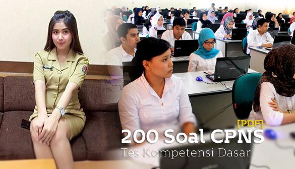 200 Soal CPNS 2018 Tes Kompetensi Dasar